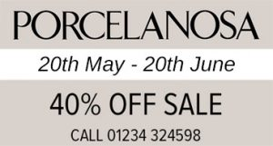 Porcelanosa 40% Off Sale - From 20th May 2016