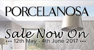 Porcelanosa 35% Off Sale 12th May - 4th June 2017
