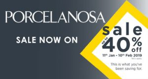 Porcelanosa Winter Sale