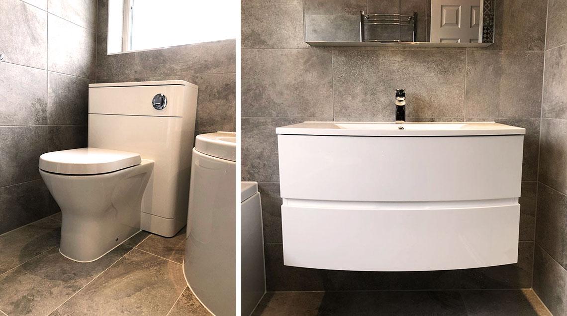 Marabese bathroom design in Great Barford