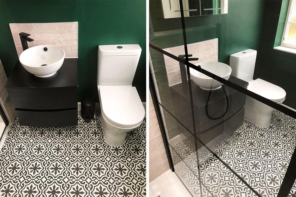 Marabese bathroom design in Bromham
