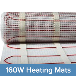160W Heating Mat System