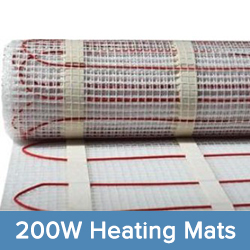 200W Heating Mat System