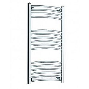 Curved Heated Towel Rail