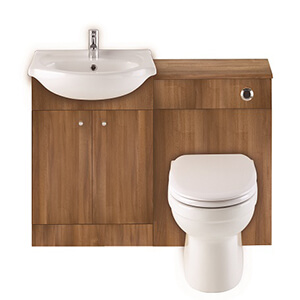 Basin & Toilet Combination
