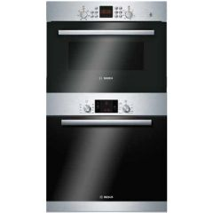 Bosch Series 6 Single 60cm Oven & 45cm Compact Microwave Pack - B1ZGB01946