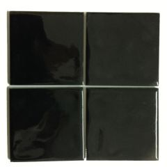 Faetano BC1 Black Gloss Wall Tile