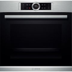 Bosch HBG674BS1B Series 8 Single Pyrolytic Oven