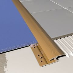 Carpet to Tile Trim Standard Synbrass