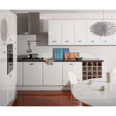 Crown Lifestyle Genoa White Kitchen
