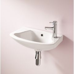 Ebony Cloakroom Basin - 1 or 2TH