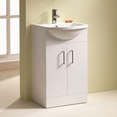 Eden 2 Door Base Unit & Basin (Eden 50 pictured)