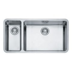 Franke Kubus Stainless Steel Undermount 2 Bowl Sink