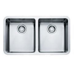Franke Kubus Stainless Steel Undermount Double Bowl Sink
