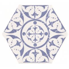 Marrakech Agadir Hexagon Tile 15 x 15cm