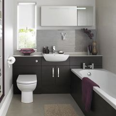 Mereway Java Wenge Fitted Bathroom