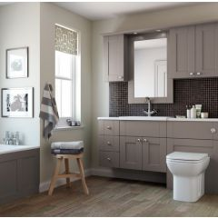Mereway Sargasso Pumice Satin Fitted Bathroom