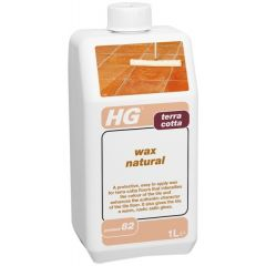 HG Terracotta Wax Natural 1Ltr