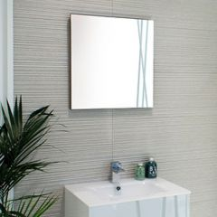 Porcelanosa Bambu Mirror (55 x 60cm shown)