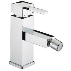 Bristan Quadrato Bidet Mixer Tap with Pop-up Waste