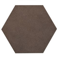 Rewind Tobacco Hexagon Tile 21 x 18.2cm