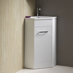 Richmond 1-Door Corner Unit & Basin