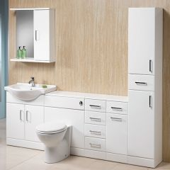 Richmond 210 Basin, WC Unit & Door/Drawer Units