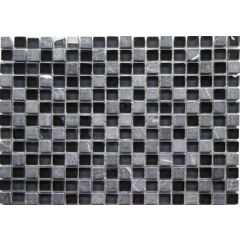 Global Black Mosaic 30 x 30cm