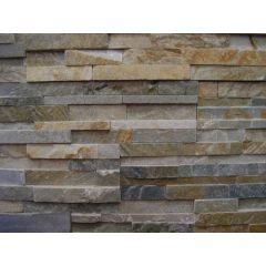 Clad FX Slate Silver Sunset Wall Cladding 60 x 15cm