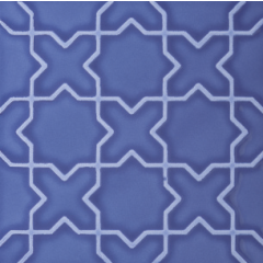 V&A Souk Decor Blue 15.2 x 15.2cm