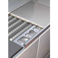 Stainless Steel Square Edge Tile Trim 2.5m