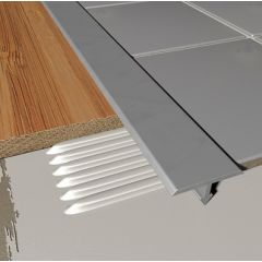 T Shaped Cover Strip Aluminium 2.5m