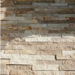Clad FX Travertine Wall Cladding 60 x 15cm