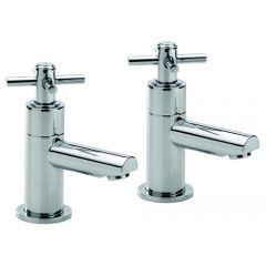 Trio Cross Head Basin Taps (Pair)