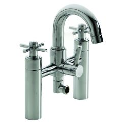 Trio Cross Head Bath Shower Mixer Tap