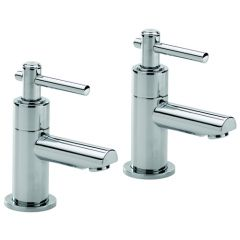 Trio Lever Head Basin Taps (Pair)