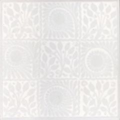 V&A White 9 Square Decor 15.2 x 15.2cm