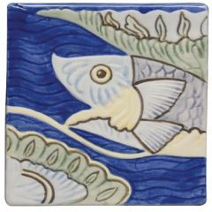 Winchester Classic Fish Frieze 1 10.5 x 10.5cm