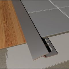 Transition Profile Stainless Steel 2.5m