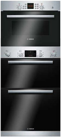 Double Oven 45cm Compact Microwave