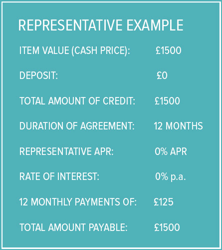 Finance Representative Example