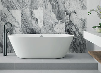 Bormio marble effect tiles